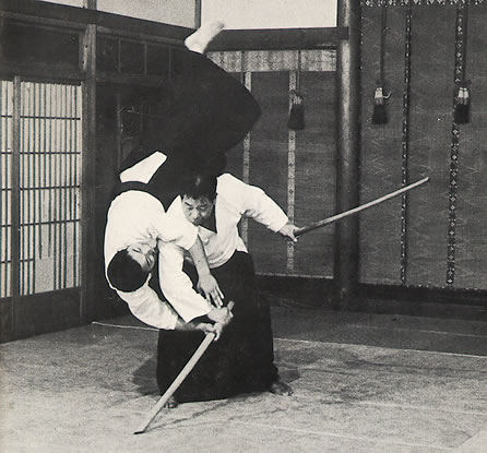 Caretaker of the Iwama Dojo, Saito Sensei was one of O'sensei's closest students.  He developed a curriculum to teach what he learned directly from the founder.to